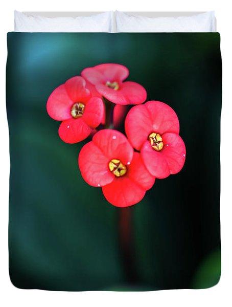 Beautiful Summer Flowers Duvet Cover
