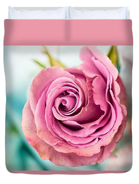 Beautiful Vintage Rose Duvet Cover
