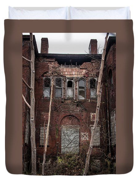 Beauty In Decay Duvet Cover