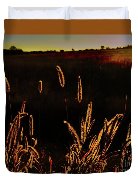 Beauty In Weeds Duvet Cover