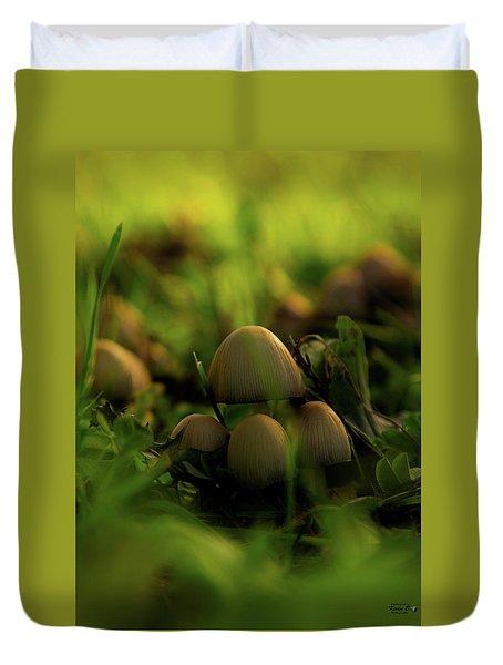 Beauty Of Fungus Duvet Cover