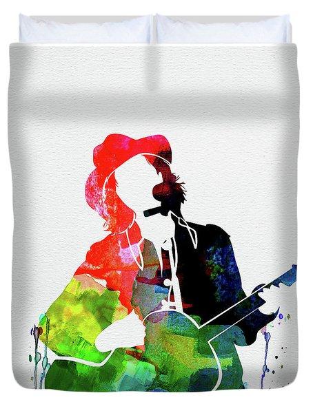 Beck Watercolor Duvet Cover