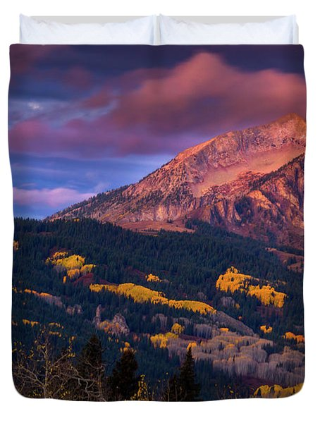 Beckwith At Sunrise Duvet Cover