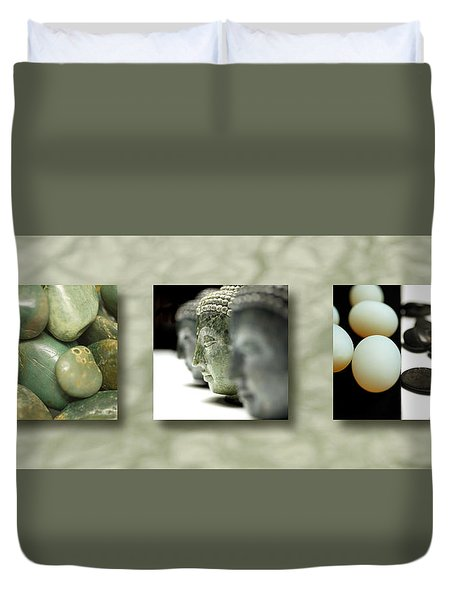 Becoming IIi Duvet Cover