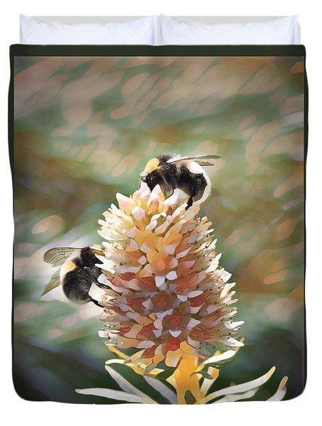 Bee Bee Duvet Cover