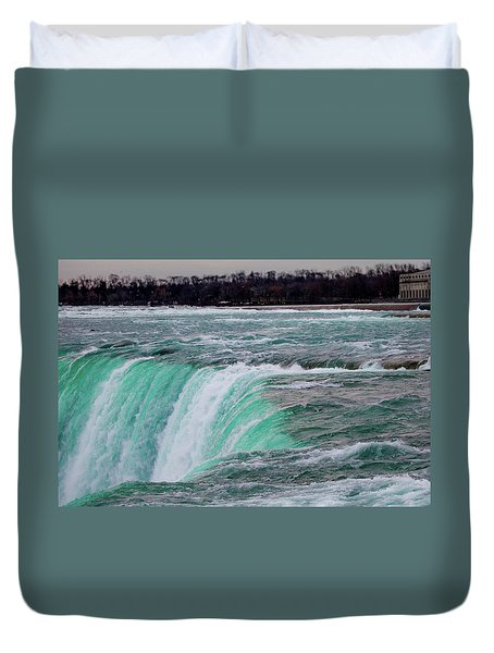 Before The Falls Duvet Cover