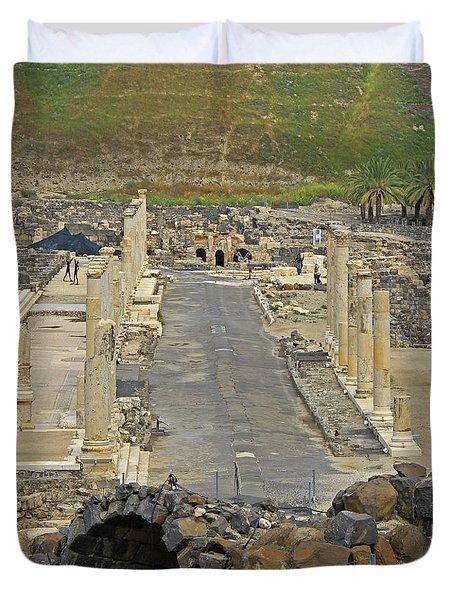 Beit Shean, Israel Duvet Cover