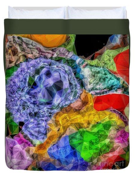 Bejeweled Duvet Cover