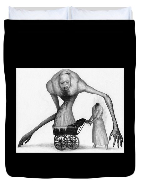 Bella The Nightmare Carriage Updated - Artwork Duvet Cover