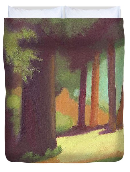 Berkeley Codornices Park Duvet Cover