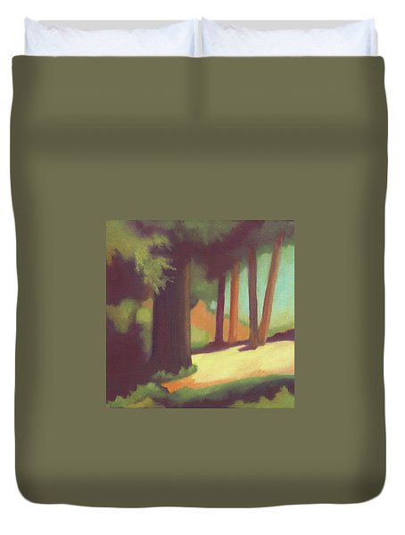 Berkeley Codornices Park Duvet Cover