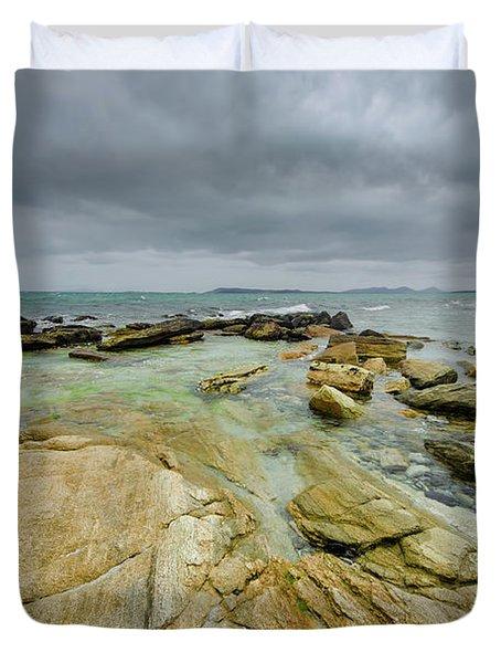 Berneray Coast Duvet Cover