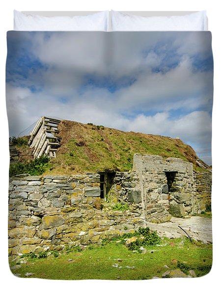 Berneray Croft Duvet Cover