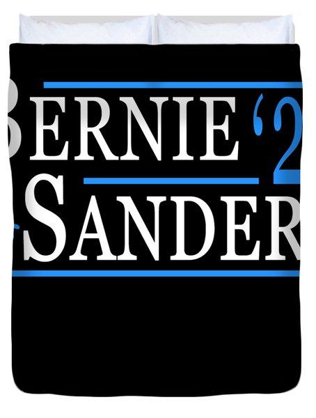 Bernie Sanders Blue Wave 2020 Duvet Cover