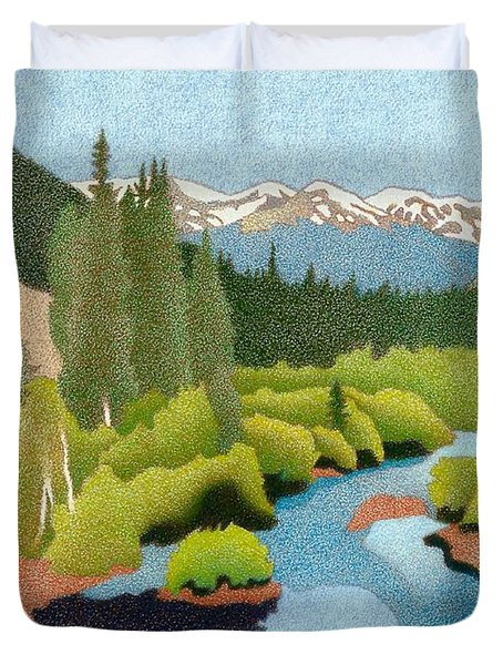 Berthoud Pass Duvet Cover
