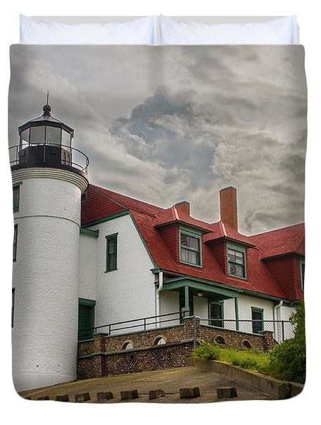 Bestie Point Lighthouse  Duvet Cover