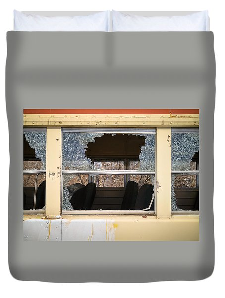 Duvet Cover featuring the photograph Better Days by Carl Young