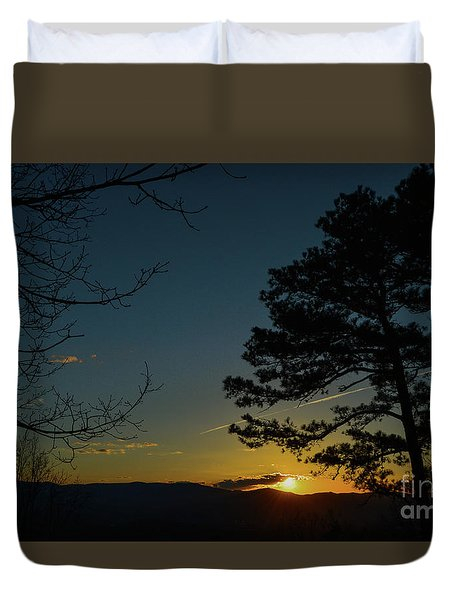 Beyond The Now Duvet Cover