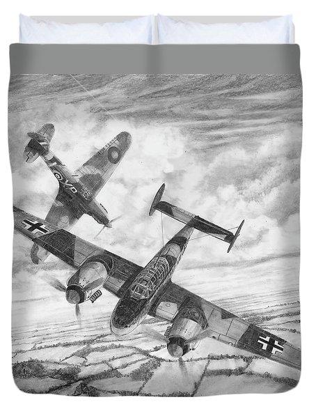 Bf-110c Zerstorer Duvet Cover