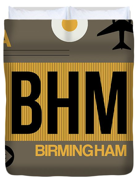 Bhm Birmingham Luggage Tag I Duvet Cover