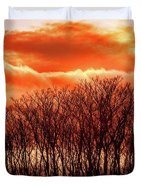 Bhrp Sunset Duvet Cover