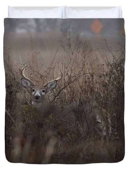 Big Buck Duvet Cover