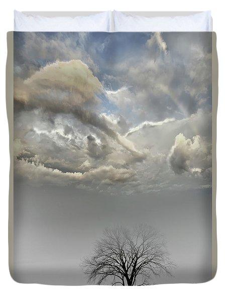 Big Sky One Tree Duvet Cover