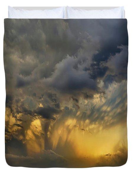 Big Sky Yellow Light Duvet Cover