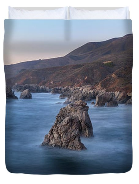 Big Sur Emotion Duvet Cover