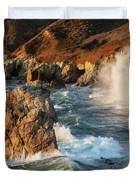Big Sur Panorama Duvet Cover
