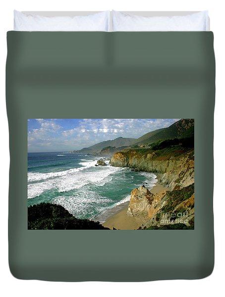 Big Sur Duvet Cover