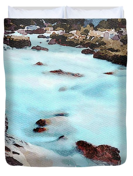 Big Two-hearted River Duvet Cover