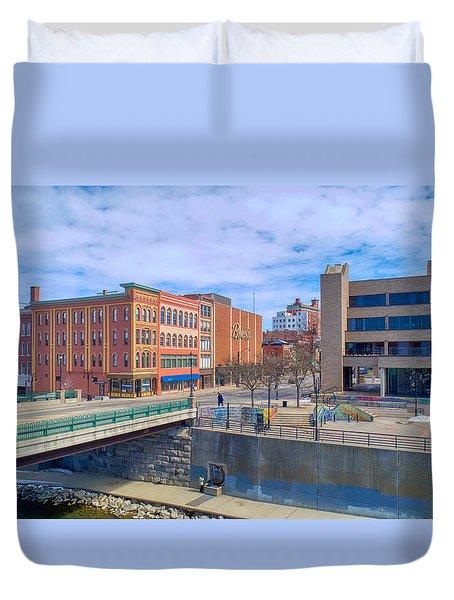 Binghamton Art Duvet Cover