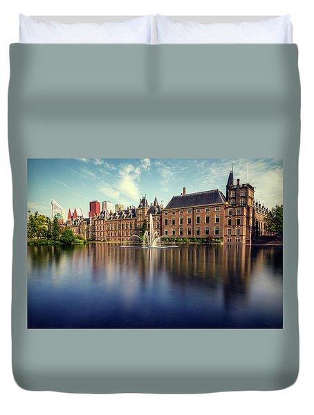 Binnenhof, The Hague Duvet Cover