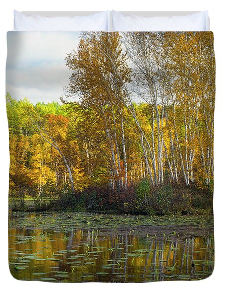 Birch Island Duvet Cover