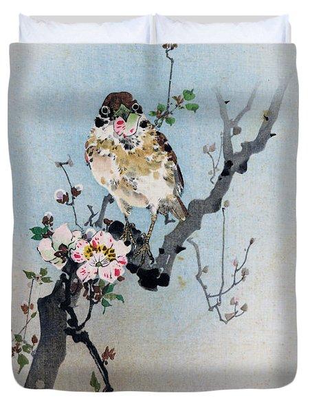 Bird And Petal Duvet Cover