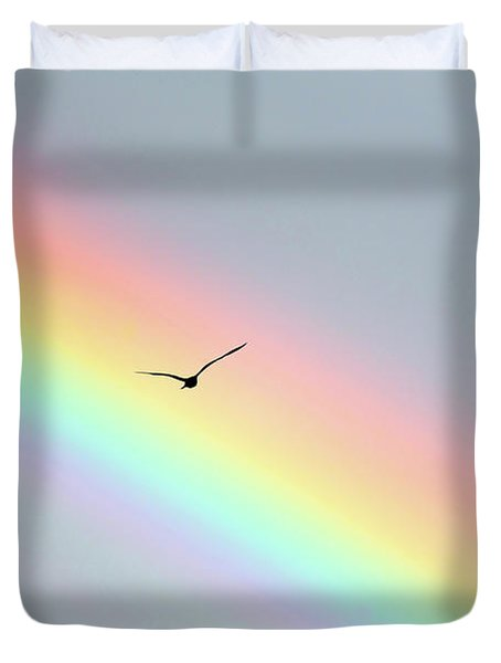 Bird Bow Duvet Cover