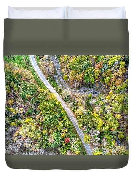 Bird Eye View Duvet Cover