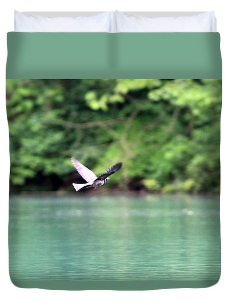 Bird In Flight Duvet Cover