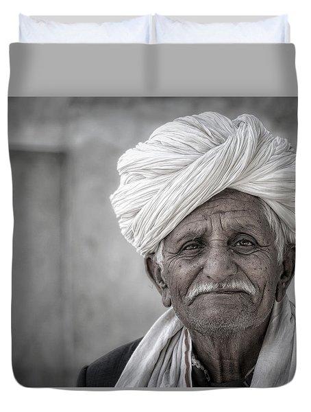 Bishnoi Elder Duvet Cover
