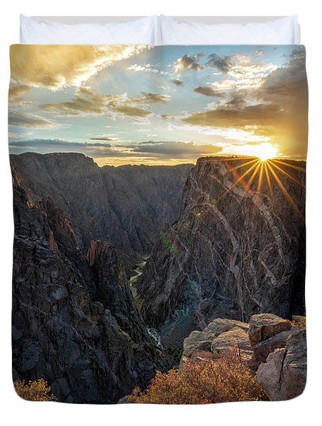 Black Canyon Sendoff Duvet Cover