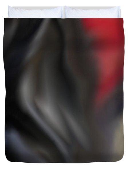 Black Dog 2 Duvet Cover