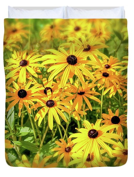 Black Eyed Susans Duvet Cover