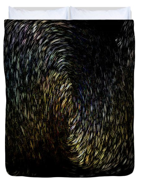 Echoing Black Hole Duvet Cover