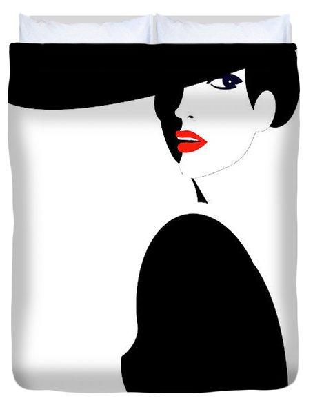 Black Widow 2 Duvet Cover