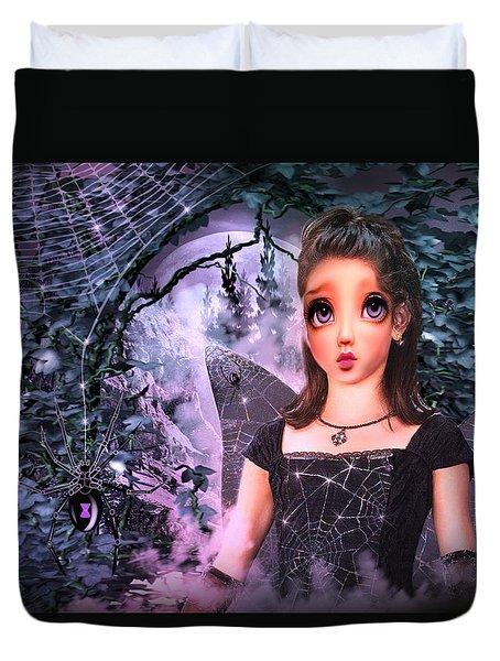 Black Widow Princess Duvet Cover