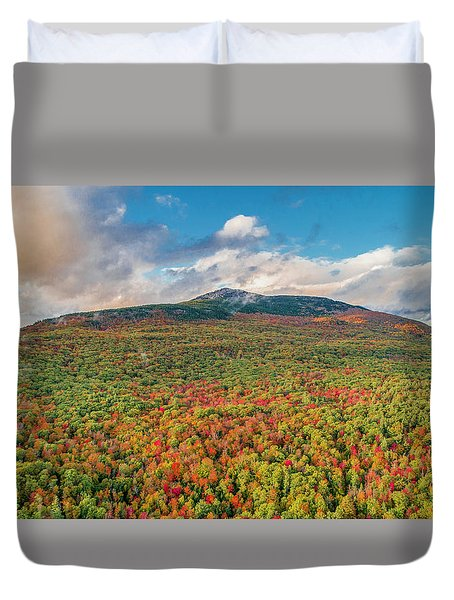Blanketed In Color Duvet Cover