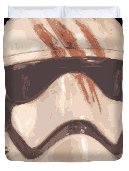 Bloody Helmet Duvet Cover