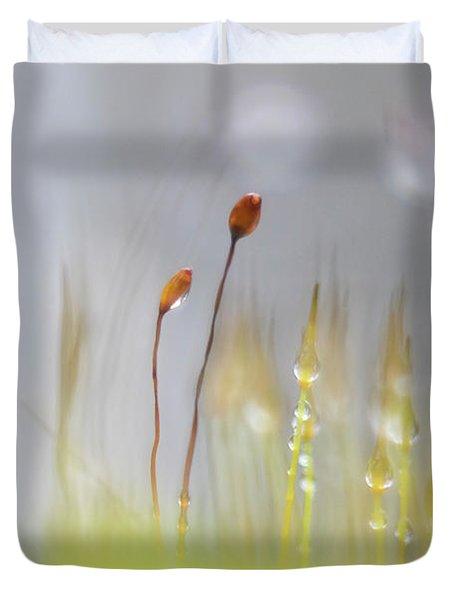Blooming Moss Duvet Cover