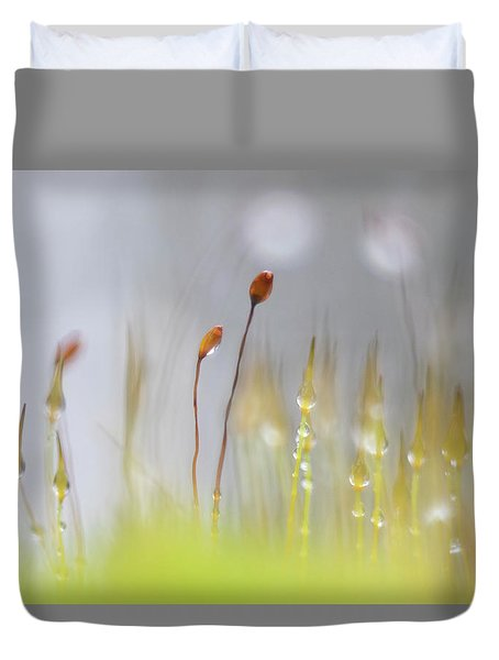 Blooming Moss Duvet Cover